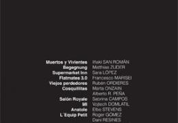 Cartel 2012. Diseño: Germán Chamorro