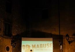 Mostra Dr Mabuse 2017 en Plaça St. Felip Neri